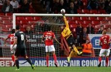 VIDEO: Andy Reid scored with this looping free-kick / cross last night