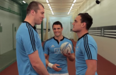 VIDEO: Dan Carter and the All Blacks take part in staring contest