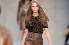 Teen model legs apart nude