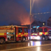 Fire at derelict pub on Thomas Street