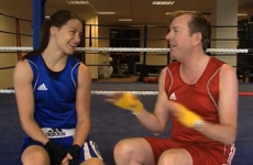 Katie Taylor kicks presenter's ass in TV challenge, has a good laugh while she's at it