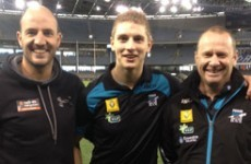 Kildare's Daniel Flynn signs Aussie Rules contract with Port Adelaide