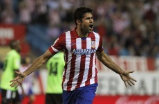 Brazilian striker Diego Costa on the brink of switching allegiance to Spain