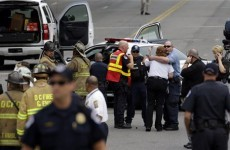 Chase from White House to US Capitol ends in gunfire