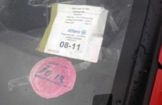 Is this the most Irish tax disc of all?
