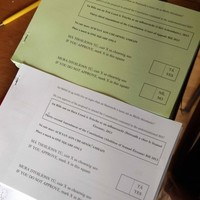 PIC: If you haven't voted yet these are what your two ballot papers will look like