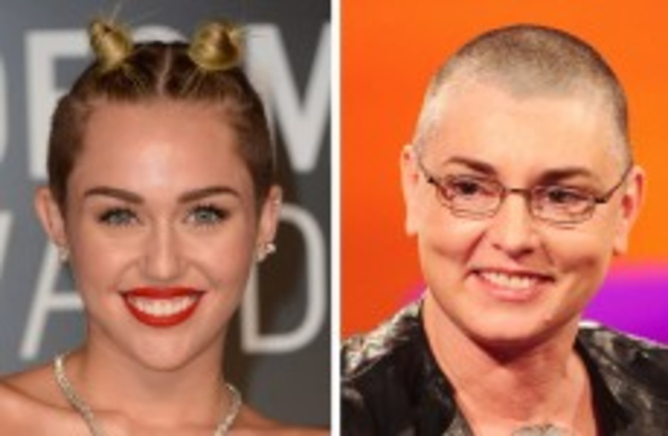 Sinead O Connor To Appear On Tonight S Late Late Show To Discuss Miley Cyrus Row