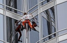 'Spiderman' sets off on trek to climb world's highest tower