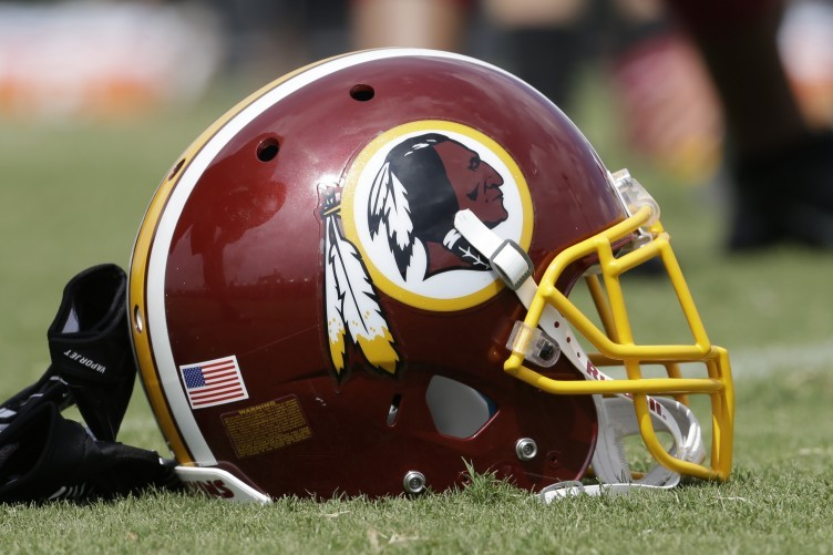 """Redskins owner Dan Snyder says he will """"never"""" change controversial nickname."""