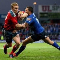 VIDEO: Keith Earls leaves Rob Kearney in his wake as Munster beat Leinster
