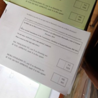 Poll: Did you find the referendum ballot papers confusing?