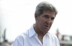 "Raids show terrorists ""can run but they can't hide"" --- John Kerry"