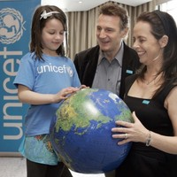 Liam Neeson becomes first Irish goodwill ambassador for Unicef