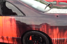 WATCH: This heat sensitive car changes colour with temperature