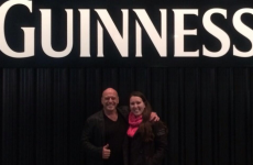 Dean Norris had a great aul time in Dublin over the weekend