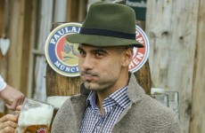 Pep and Bayern kick off international break with trip to Oktoberfest