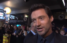 WATCH: Hugh Jackman runs into former student on the red carpet