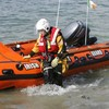 Navy divers retrieve body from the water in Clare