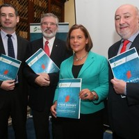 Sinn Féin wants a third rate of tax, a betting tax and to abolish the property tax