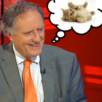 Vincent Browne finally admits that he's a big fan of cats
