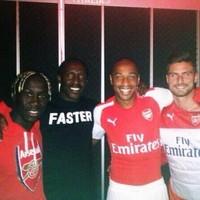 Did Linford Christie leak Arsenal's new Puma kit?