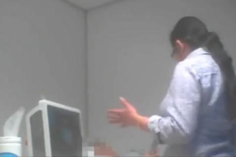 Secret footage filmed by The Telegraph