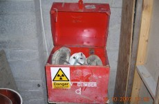 Gardaí renew appeal for stolen radioactive materials