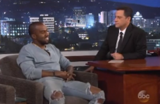 Kanye West was on Jimmy Kimmel last night to discuss those angry tweets