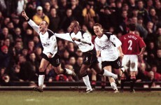Because he's retiring, here are two of Danny Murphy's winners at Old Trafford