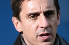 Gary Neville was approached to be part of RTE's punditry team - Dunphy