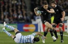 Sonny Bill Williams won't make rugby union comeback next year