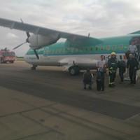 Aer Lingus regional flight bursts tyre after landing in Cardiff