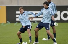 Goetze offside with Germany after new clothing gaffe