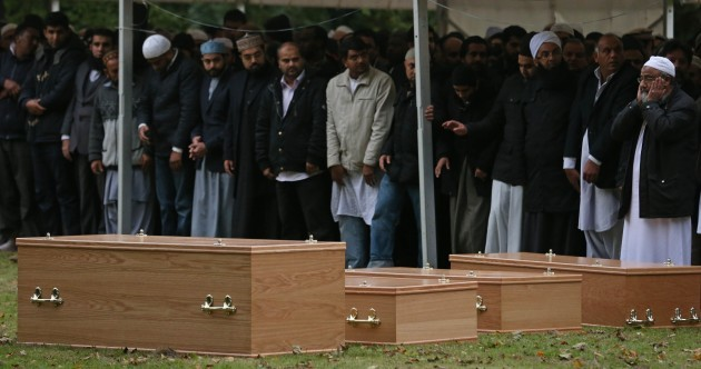 Thousands attend funeral prayers in Dublin for family killed in Leicester fire