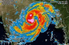At least four killed as massive cyclone hits India coast