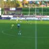 Ireland under-19 international scores an unbelievable goal from the halfway line