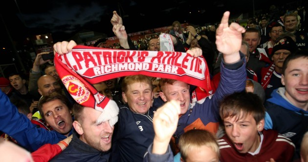 18 of our favourite pics as St Pat's end 14-year wait for League of Ireland title