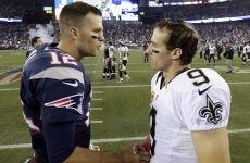 Tom Brady throws an incredible touchdown pass, Patriots win with five seconds on the clock