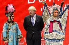 10 of the most awkward pics of Boris Johnson in China