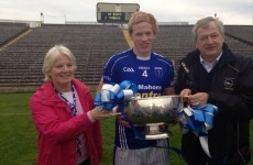 Snapshot: GAA director Paraic Duffy celebrates as son wins county title and 'granda's cup'