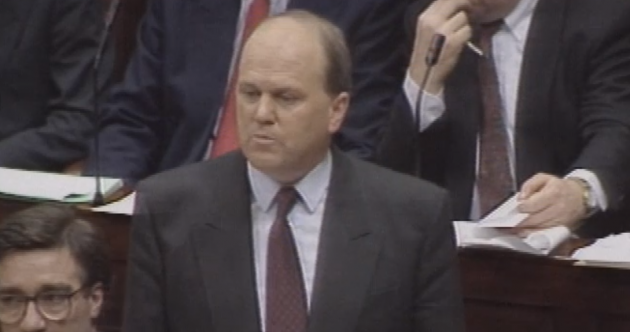 Check out out these pictures of Michael Noonan on Budget Day... 23 years ago
