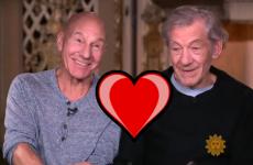 Patrick Stewart and Ian McKellan talk about their amazing friendship