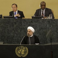 Negotiators arrive at UN for crucial talks on Iran's nuclear plan
