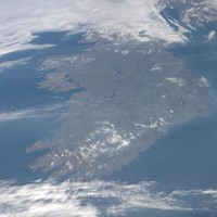 On stress test day, Ireland gets a little gift from space