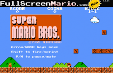 You can now play Super Mario Bros in your browser