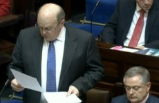 IN FULL: Michael Noonan's Budget 2014 speech