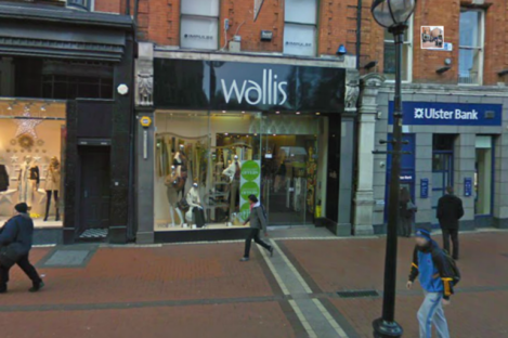 Wallis on Grafton Street (file photo)