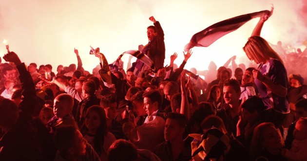 There was one hell of a party in Sarajevo last night