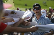 Late eagle lifts Scott to Grand Slam of Golf victory, Harrington finishes last