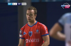 20-year-old Irishman Shane O'Leary enjoying life at Grenoble